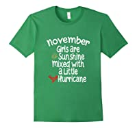 Birthday Gift Idea. Sunshine Hurricane Funny Quote Shirts Forest Green
