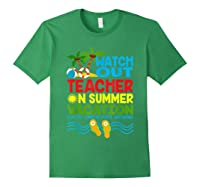 Watch Out Tea On Summer Vacation Every Child Left Behind Shirts Forest Green