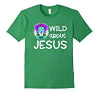Wild About Jesus Vbs Sunday School Tea Pastor Lion Shirts Forest Green
