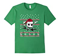 Nightmare Before Christmas Holiday Shirts Forest Green