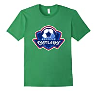 American Outlaw Soccer Game Fan Patriot Shirt Forest Green
