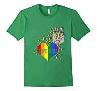 Love Wins Lgbtq Color Heart Pride Month Rally Shirt Tank Top Forest Green