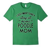 Poodle Dog Shirt Forest Green