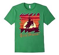 Rodeo 2019 T Shirt Houston Rodeo Cowboy Yiiihaaa Forest Green