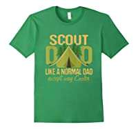 Scout Dad Cub Leader Boy Camping Scouting Gift Shirts Forest Green