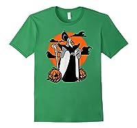 Disney Jafar The Powerful Halloween T Shirt Forest Green