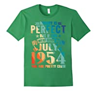 Made In July 1954 Of Being Awesome Gifts For Family Shirts Forest Green