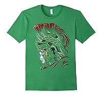 Roman Skull Praetorian Warrior Shirts Forest Green