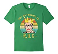My Patronus Is Ruth Bader Ginsburg Shirt Notorious Rbg Gift Forest Green