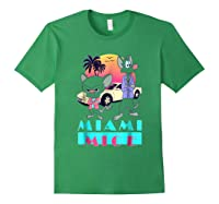 Miami Mice Shirts Forest Green