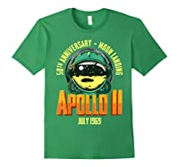 Apollo 11 50th Anniversary Shirts Forest Green