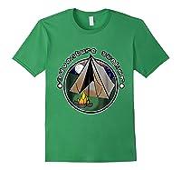 Adventure Seeker T Shirt Camping Outdoor Travel Forest Green