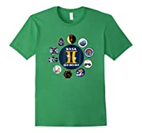 Project Gemini Missions Patch Badge Nasa Shirts Forest Green