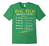 Tech Hourly Rate Chalk Style Best Gift Shirts Forest Green