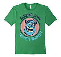 Pixar Monsters University Sulley Face Shirts Forest Green