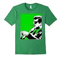 John F Kennedy 35th President - Jfk Smoking Cigar Blunt Premium T-shirt Forest Green