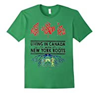 Living In Canada With New York Roots Ny Shirts Forest Green