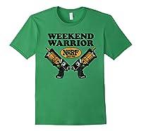 Hasbro Nerf Blaster Weekend Warriors T-shirt Forest Green