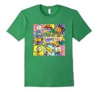Rugrats Retro Box T-shirt Forest Green