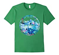 Watercolor Las Vegas Shirt Nevada City Gift Forest Green