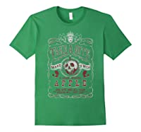 Snow Take A Bite Vintage Poster Shirts Forest Green