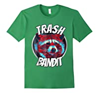 Raccoon Trash Bandit Funny Raccoon Trash Panda T Shirts Forest Green
