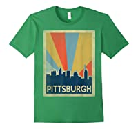 Classic Pittsburgh Shirts Forest Green