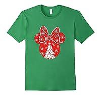 Disney Minnie Tree T Shirt Forest Green
