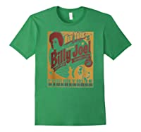 Billy Joel - New York's Native Son T-shirt Forest Green
