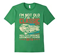 Vintage 40th Birthday I'm Not Old I'm Classic 1979 Car Shirts Forest Green