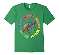 Chameleon Karma 80 S Pride 1980 S Pop Club Culture Peace Shirts Forest Green