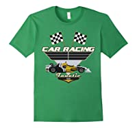 Car Racing Fanatic 500 Miles T Shirt Car Lover Gift Forest Green