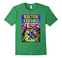 Doctor Strange Mystic Arts Neon Graphic Shirts Forest Green