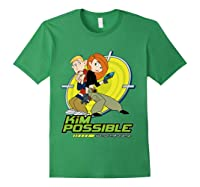 Disney Kim Possible T Shirt Forest Green