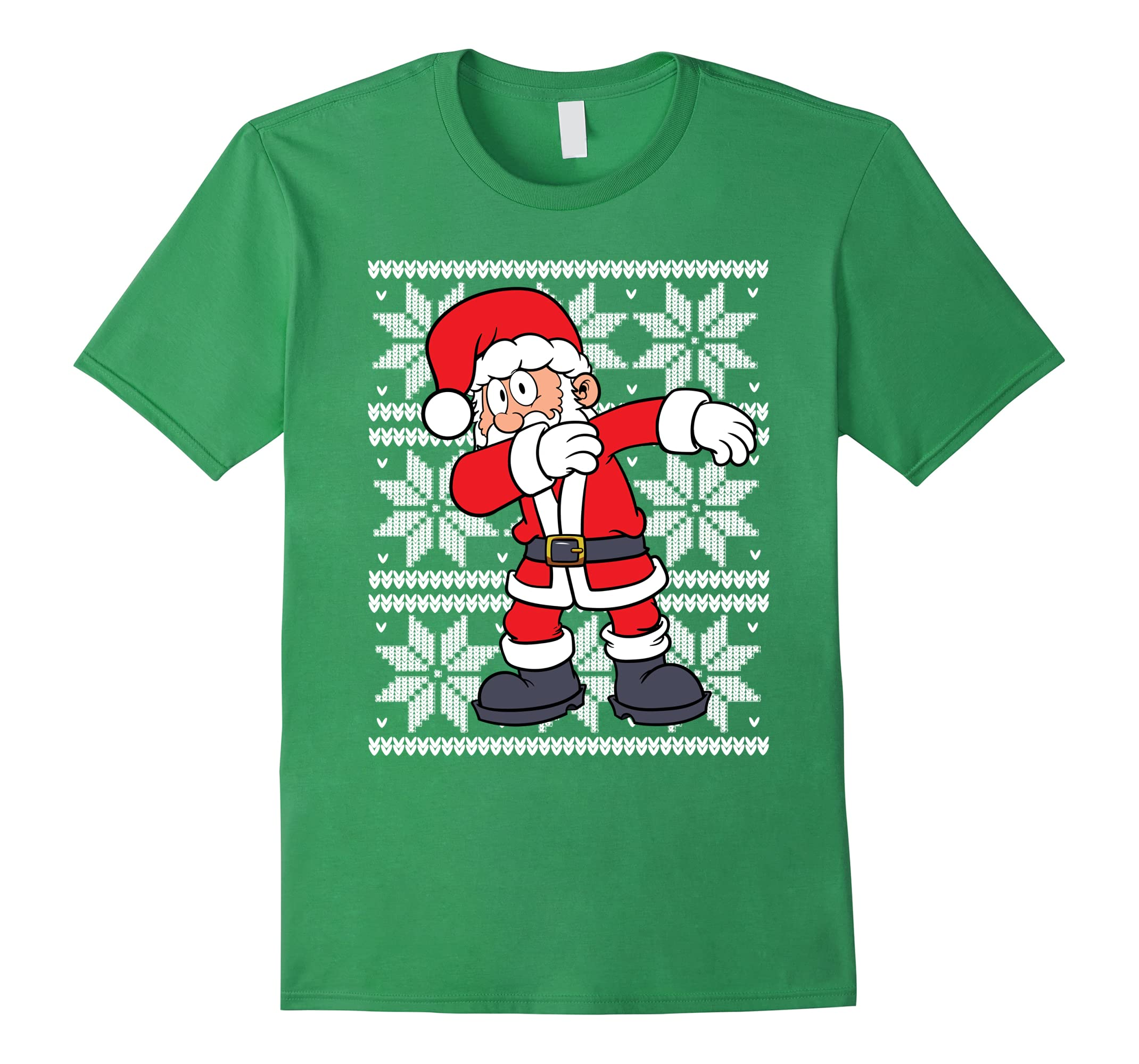 ugly christmas sweater shirt dabbing santa dab claus t shirt rt