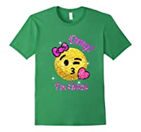 11th Birthday Shirt For Girls Forest Green