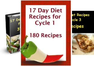 17 Day Diet Recipe Cycle (3 Book Series)