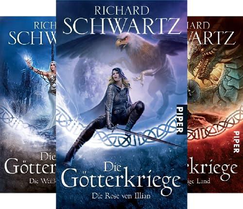 Die Götterkriege (Reihe in 7 Bänden)