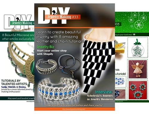 DIY Jewelry Making Magazine (47 Book Series)