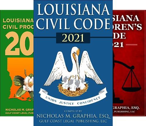 Codes of Louisiana (6 Book Series)