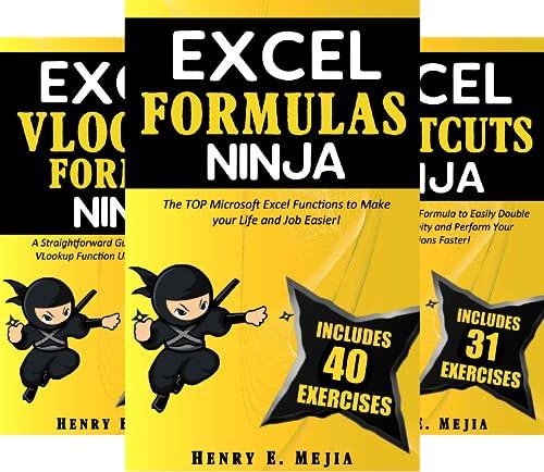 Excel Ninjas (5 Book Series)