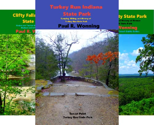 Indiana State Park Travel Guide Series (13 Book Series)