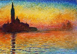 San Giorgio Maggiore at Dusk by Claude Monet - 21