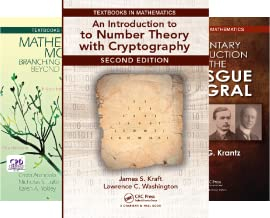 Textbooks in Mathematics (51-90) (40 Book Series)