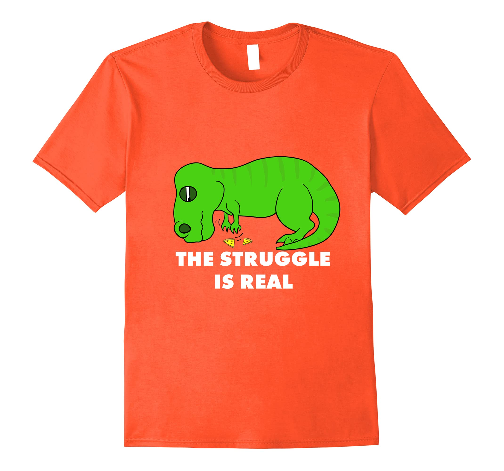 bf6fd79ce Funny T Rex T Shirt – The Struggle is Real T-Rex Tee-RT – Rateeshirt