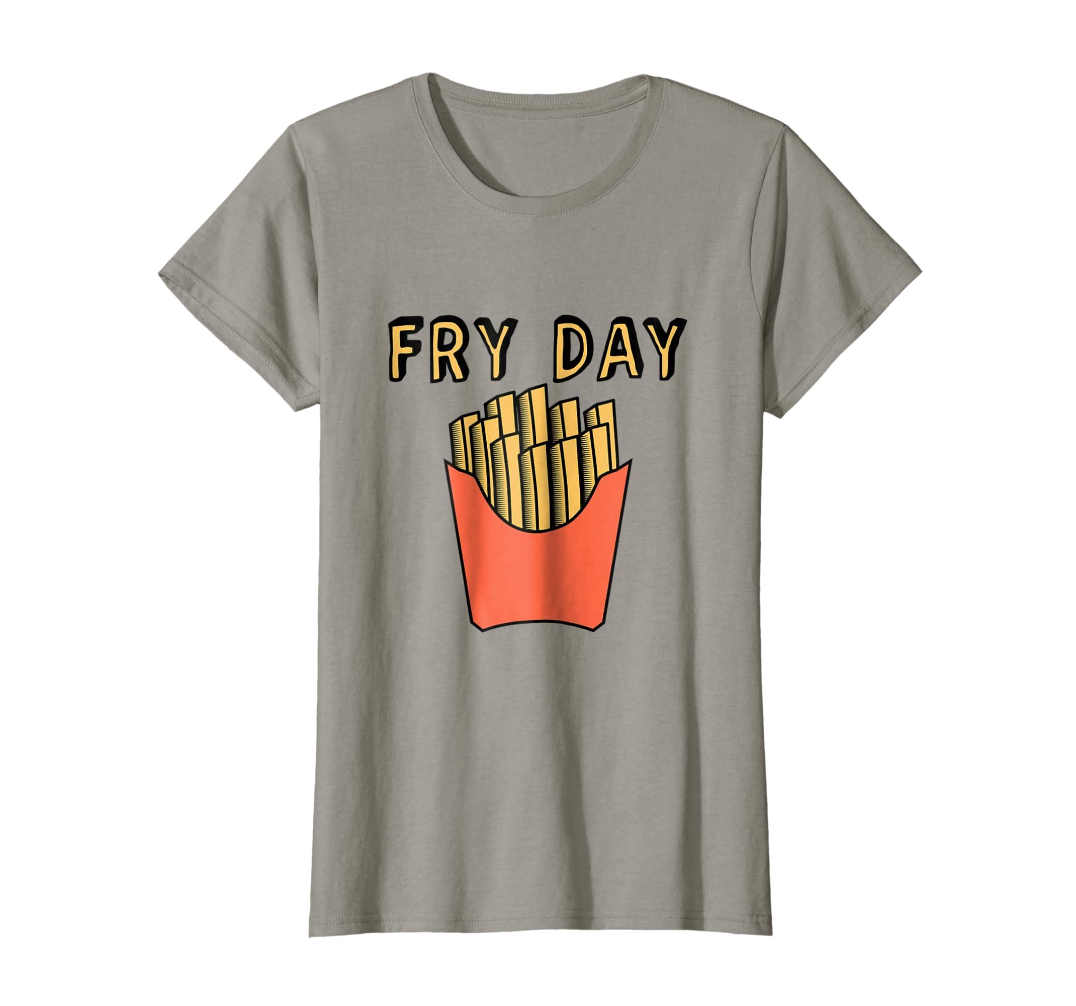f192394cb135a Day shirt fun funny french fries clothing png 2140x2000 Mcd tee shirt