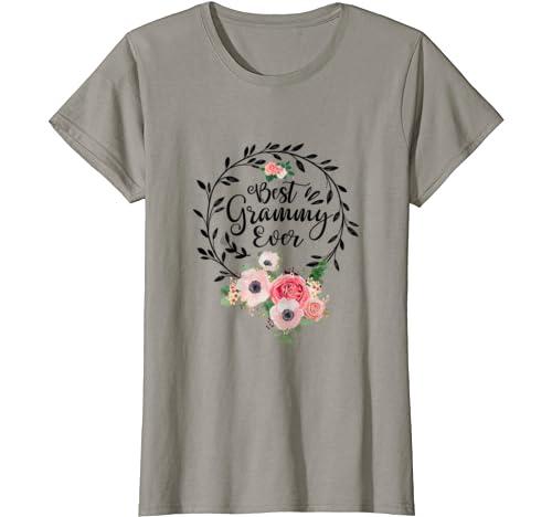 Womens Best Grammy Ever Mother's Day Gift Grandma T Shirt