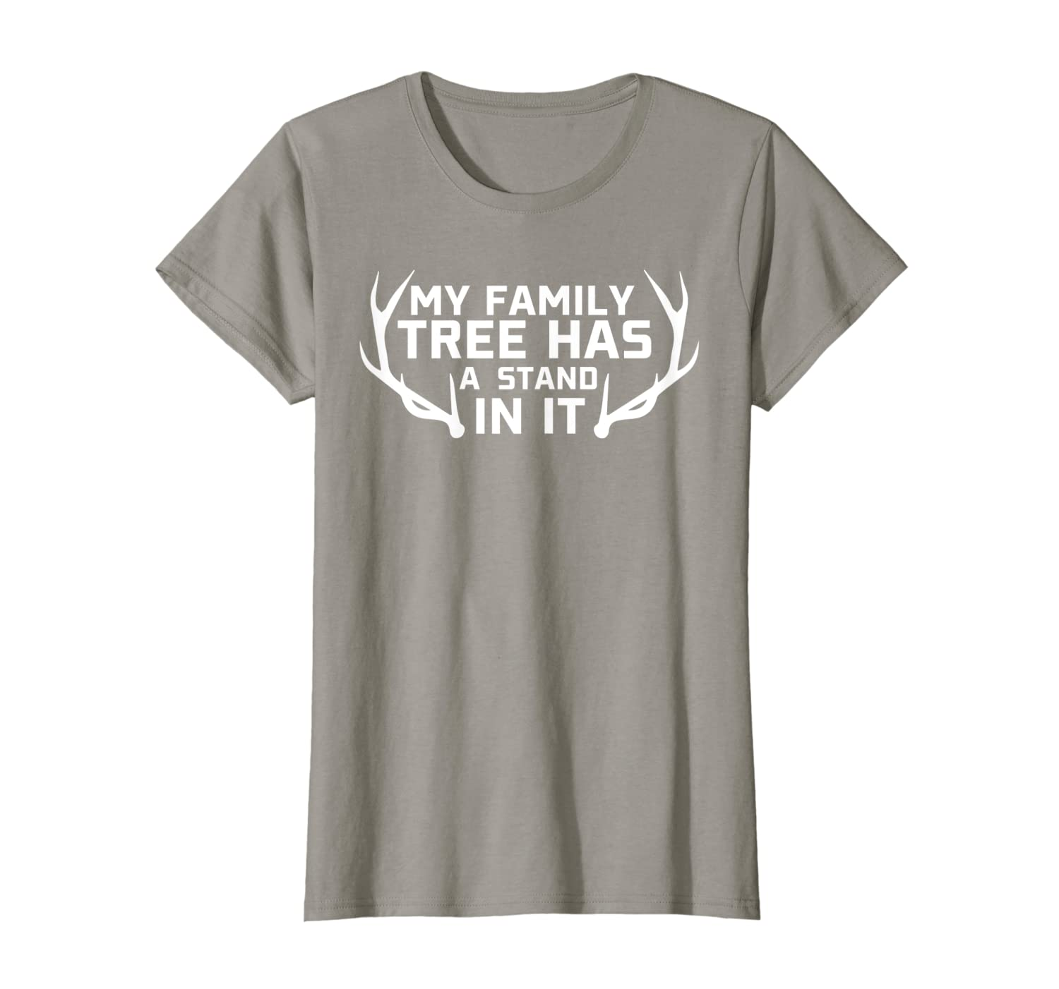Funny Hunting T-Shirt My Family Tree Has a Deer Stand In It T-Shirt Unisex Tshirt