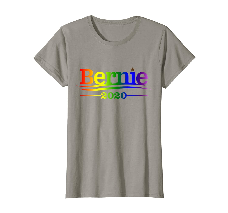 Bernie 2020 - Bernie Sanders LGBTQ Pride Rainbow T-Shirt Unisex Tshirt