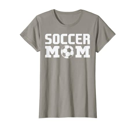 d61fb043ea06 Amazon.com: Womens Soccer Mom T Shirt Futbol Team Mama Best Mother Gift:  Clothing